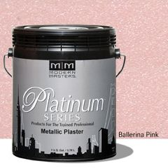 Platinum Series Metallic Plaster - Ballerina Pink Gallon