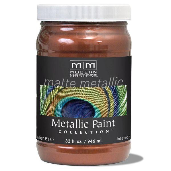 Matte Metallic Paint - Antique Copper 32 oz.