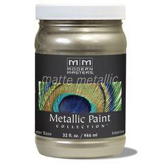 Matte Metallic Paint - Champagne 32 oz.
