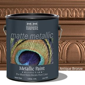 Matte Metallic Paint - Antique Bronze Gallon