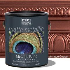 Matte Metallic Paint - Antique Copper Gallon