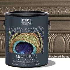 Matte Metallic Paint - Blackened Bronze Gallon