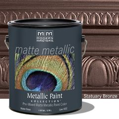 Matte Metallic Paint - Statuary Bronze Gallon