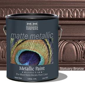 Matte Metallic Paint - Statuary Bronze Gallon