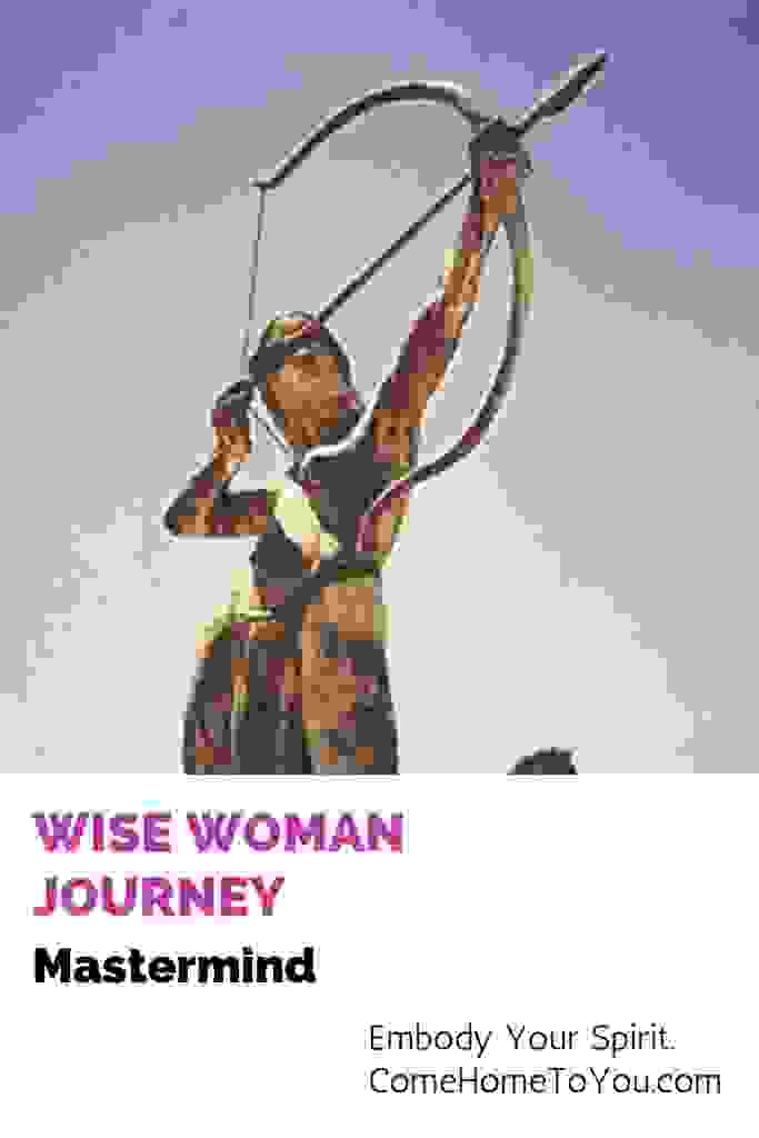 Wise Woman Journey Mastermind class 1 with woman hitting her target