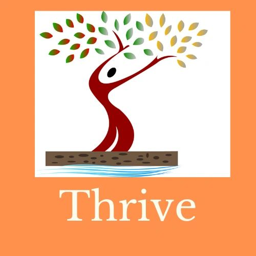 Thrive symbol of a thriving tree. Come Home to You classes and Coaching at Come Home toYou