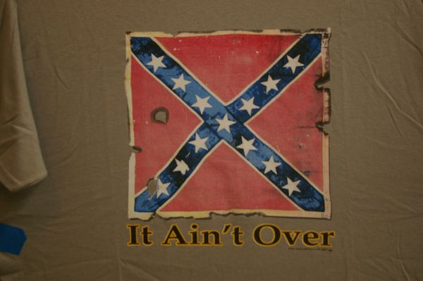 Rebel Flag, It ain't over