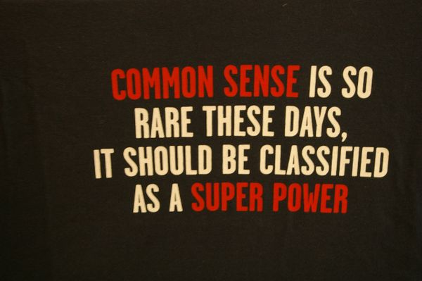 Common Sense, Superpower