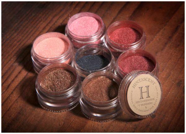 HINTASHIMMER ALL NATURAL MICA POWDERS - 1G EACH COLOR