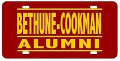 License Plate, BCU Alumni, Bar Series