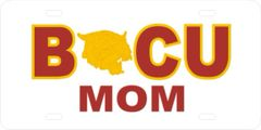 License Plate, BCU MOM