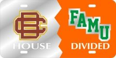 License Plate, BCU/FAMU House Divided