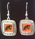 Earrings, FAMU, Square