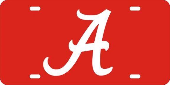 License Plate, Alabama
