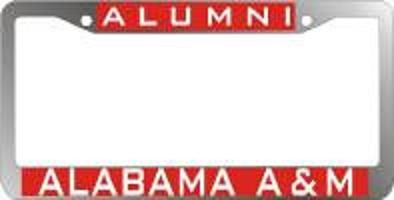 License Plate Frame, Alabama A & M