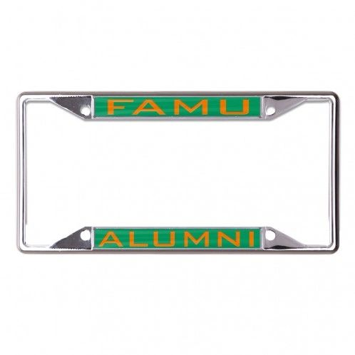 License Plate Frame, FAMU Alumni, Dual Bar