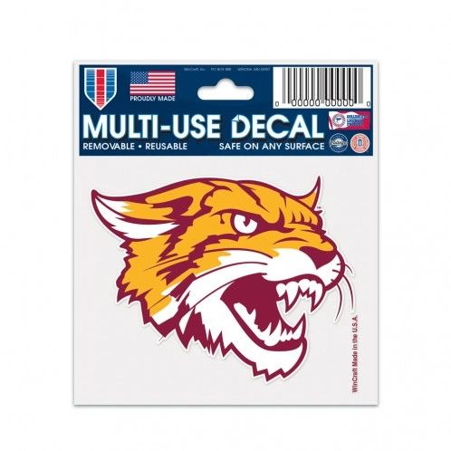 "DECAL, WILDCAT, MULTI-USE 3"" X 4"""