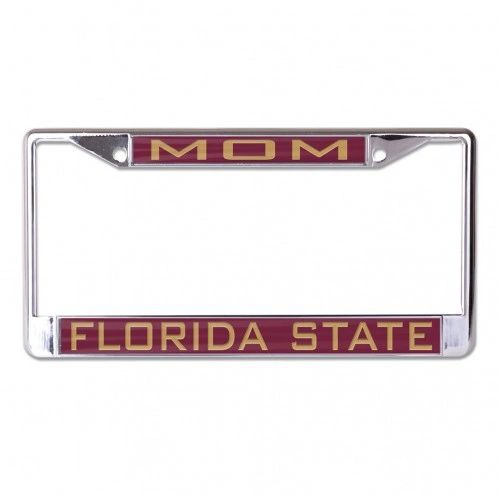 License Plate Frame, FSU Mom