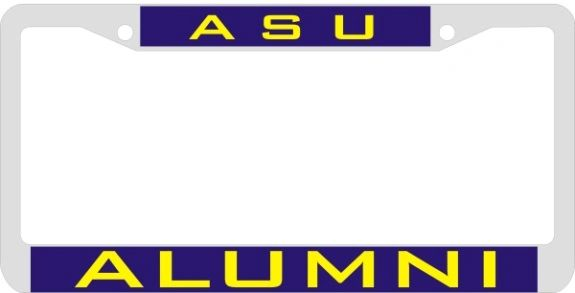 License Plate Frame, Albany State Alumni