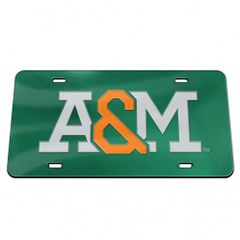 License Plate, A & M