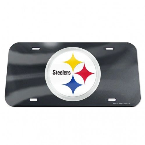 License Plate, Pittsburgh Steelers