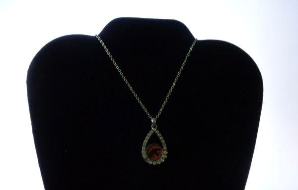 Necklace, FAMU, Tear Drop