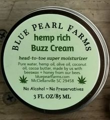 Hemp Rich Buzz Cream