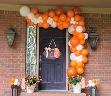 Grad balloon yard sign yard art balloon garland outdoor balloon milestone balloon college balloons