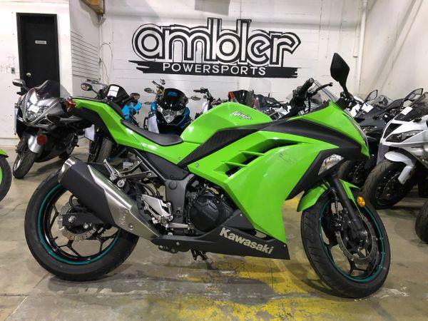 2015 Kawasaki Ninja 300 4k miles