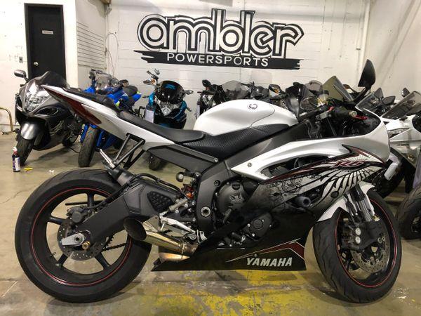 2012 Yamaha R6 Raven