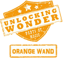 Orange Wand Magic Logo