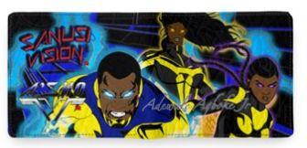 Black Lightning wallet