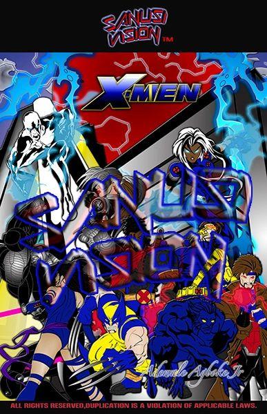 Xmen 11in X 17in Poster