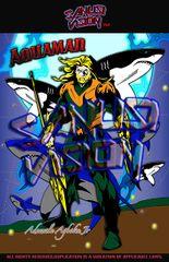 Aquaman11in X 17in Poster
