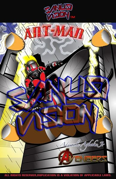 Antman 11in X 17in Poster