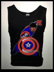 Captain America3 Tank Top