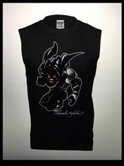 Black Panther Sleeveless Tank Top