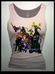 Avengers Womens Tank Top