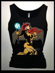 Hawk Girl Tank Top