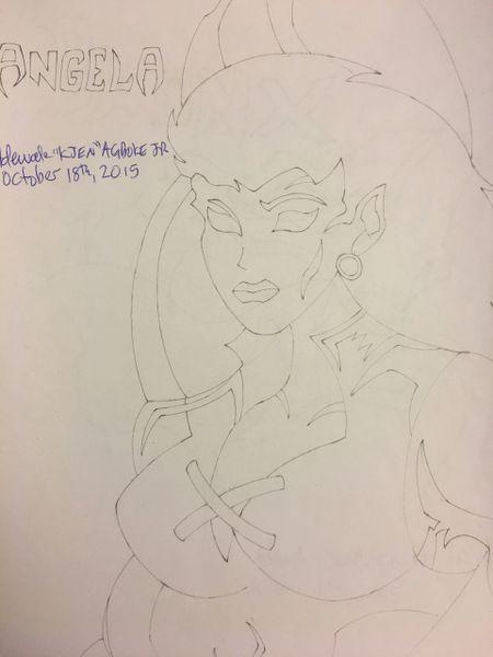 Angela(Gargoyles)