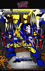 Wolverine 24in X 36in poster