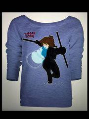 Black Canary Long Sleeve Tshirt