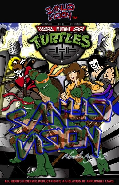 Turtles 24in x 36in Poster