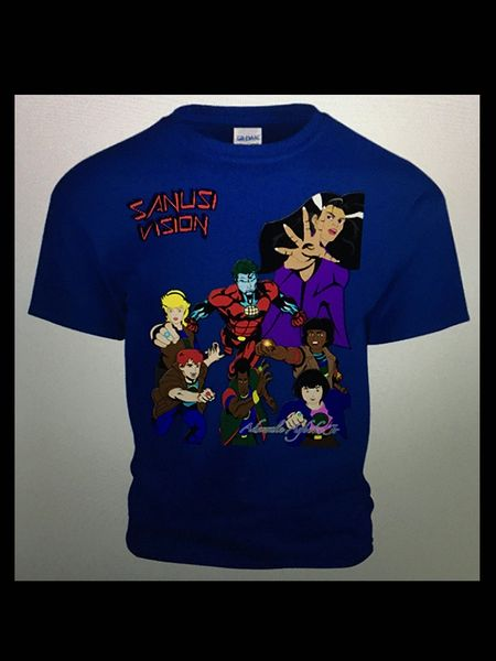 Captain Planet tshirt