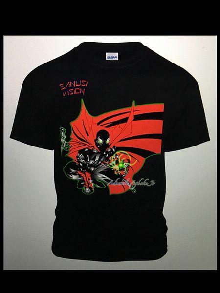 Spawn limited edition custom Tshirt