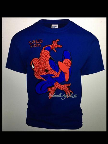 Spiderman limited edition custom Tshirt