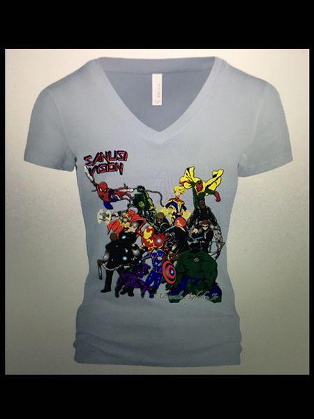 Avengers Womens Tshirt