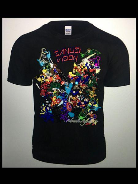 Marvel Vs Dc limited edition custom tshirt