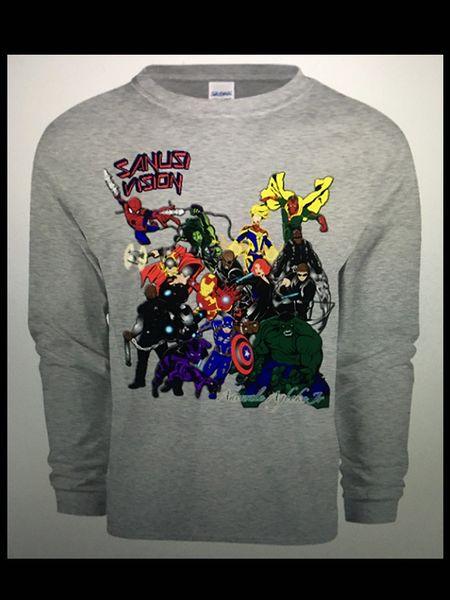 Avengers long sleeve tshirt
