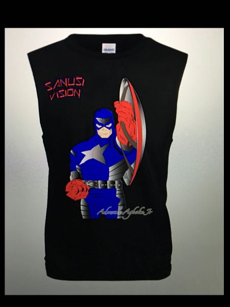 Captain America limited edition tank top